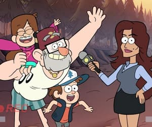 cartoon, stan, and mystery shack image
