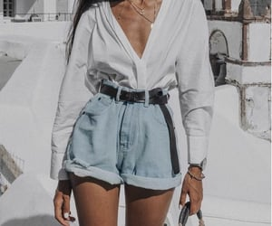 belt, fashion, and girl fashion image
