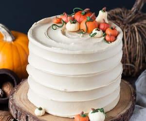 cake, pumpkin, and desserts image