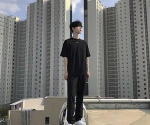 asian boy, asian fashion, and city image