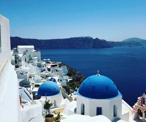 blue, crete, and pretty image