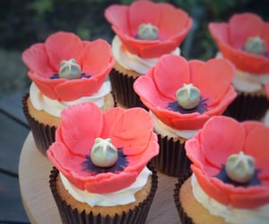 bakery, sweet, and cupcakes image