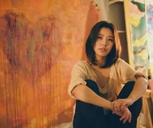 girl, korean, and wheein image