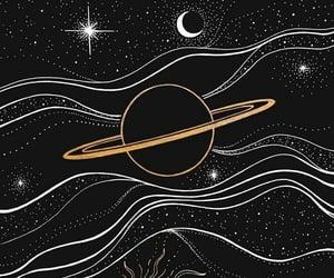 arte, sol, and estrellas image