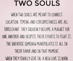 astrology, soulmate, and twin flame image