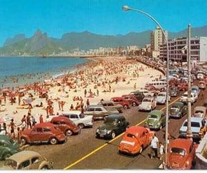 beach, rio de janeiro, and vintage image
