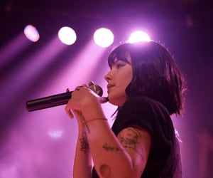 artist, beautiful, and halsey image