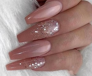 glitter, gradient, and nail art image