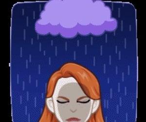 emoji and pelirroja triste image
