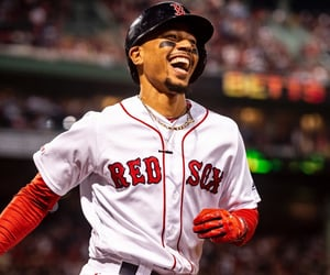 baseball, red sox, and mookie betts image