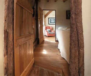 corridor, cottage, and cozy image