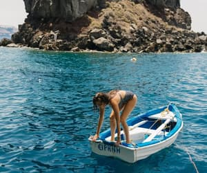 summer, ocean, and travel image