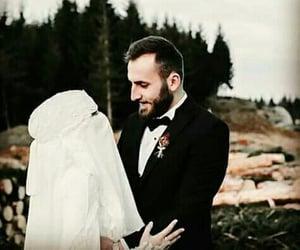 beauty, hijab, and bridal image