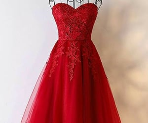 ball gown, dress, and homecoming image