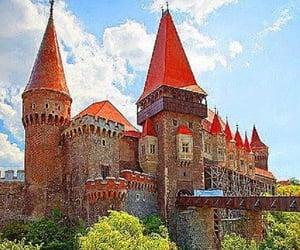romania and hunyad castle image