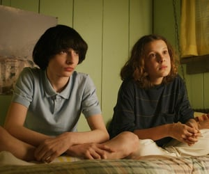 stranger things, mileven, and eleven image