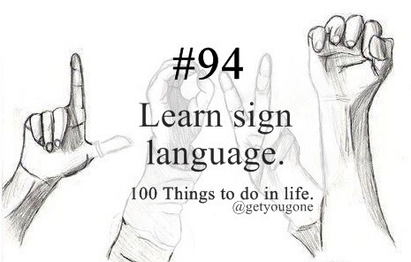 article, celebrities, and sign language image