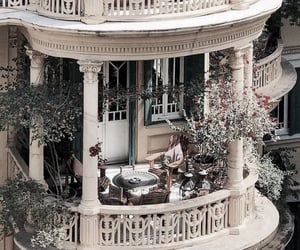 aesthetic, architecture, and balcony image