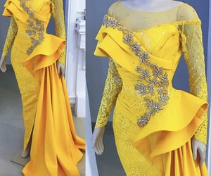 evening gowns, women fashion, and beaded evening dress image