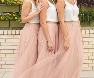 wedding party dress, cheap bridesmaid dress, and 2020 bridesmaid dresses image