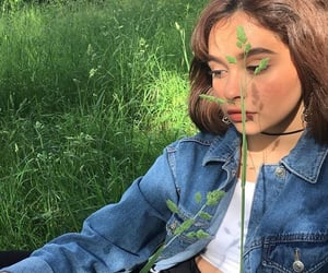 aesthetic, bambi, and green image