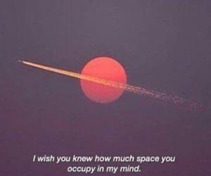 space, quotes, and love image