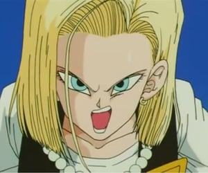 anime, cool, and android 18 image
