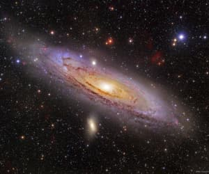 amazing, andromeda, and astronomy image