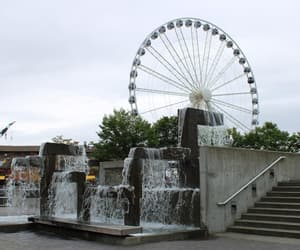 art, fountain, and seattle image