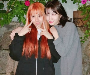 kpop, momo, and chaeyoung image