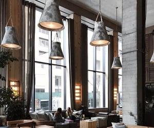 cafe, interior, and interior design image