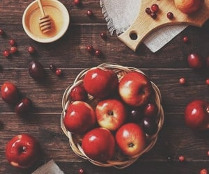 autumn, fall, and apples image