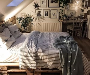 home, house, and bedroom image