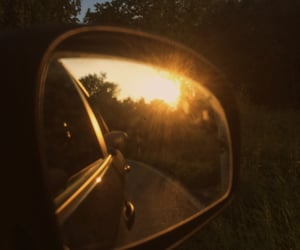 car, driving, and mirror image
