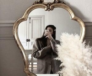 fashion, mirror, and girl image
