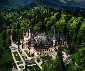 castle, romania, and royal image