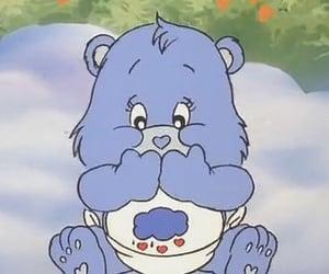 bear, blue, and carebear image
