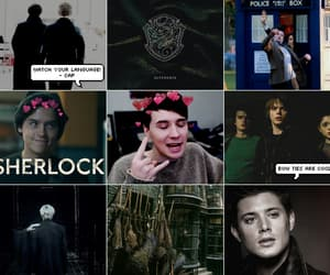 dean winchester, harry potter, and stranger things image