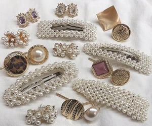 accessories, beauty, and earrings image