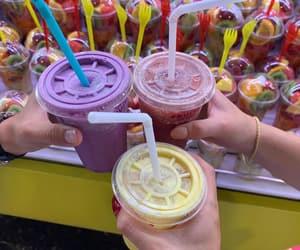 drink, fruit shake, and eat image