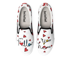 footwear, follow your heart, and shoes image
