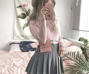 aesthetic, outfit, and kstyle image