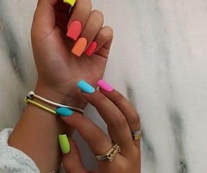 moda, nails, and esmalte image