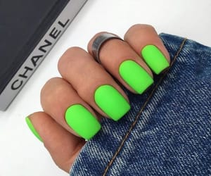 moda, nails, and verde image