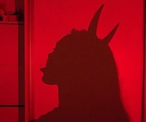 red, Devil, and aesthetic image
