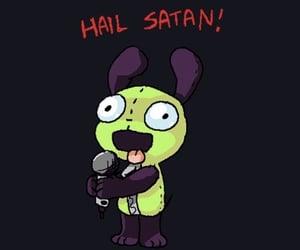 cartoons, emo, and Invader Zim image