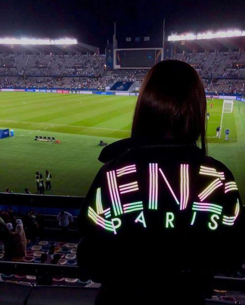 Kenzo, soccer, and stadium image