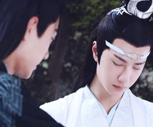 art, handsome, and xiao zhan image