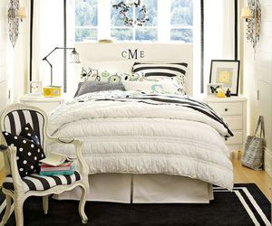 bedroom, prep, and preppy image