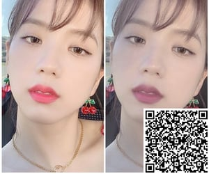effect, jisoo, and filter image